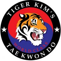 tiger kims world class tkd logo